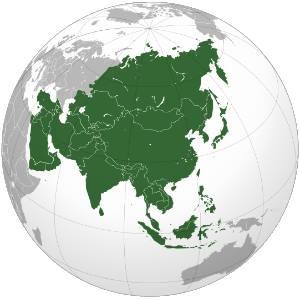 Asia vpn map
