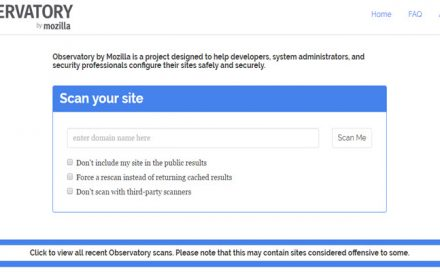 Website Security Testing Tool Launched by Mozilla