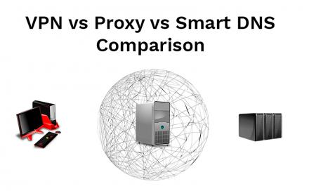 VPN vs. Proxy vs. Smart DNS – How do they differ?