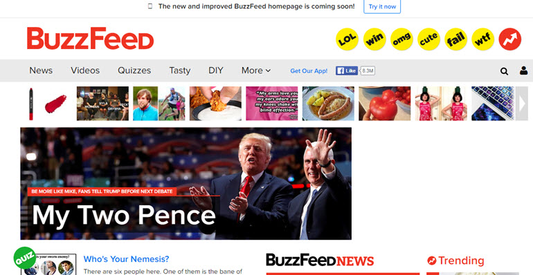 Buzzfeed website hit by OurMine hacking group