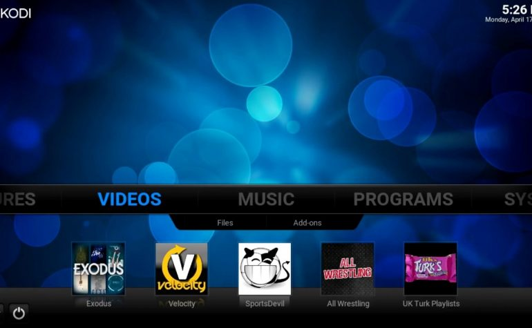 How to create Add-on Shortcuts Confluence Skin Kodi