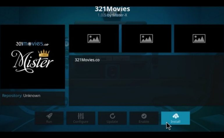 How to install 321Movies Kodi Add-on