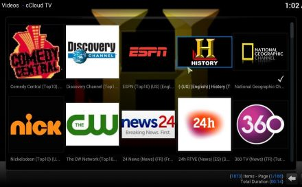 How to install cCloud TV with Kodil Repo and Watch the FiFa World Cup on cCloud TV