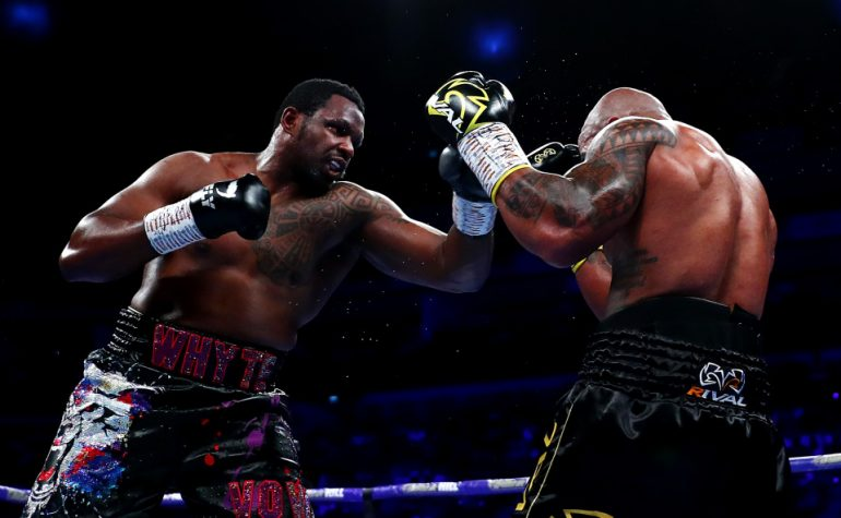 How to watch Whyte vs Rivas live online