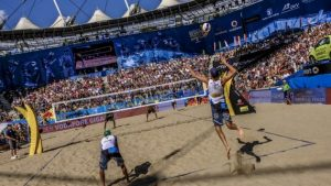 watch beach volleyball online